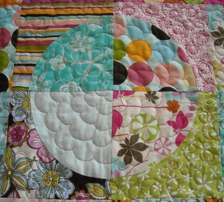 circle quilt closeup | by vickivictoria