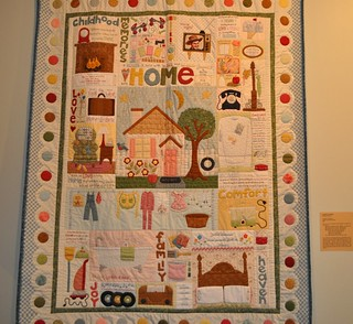 family and home quilt, SMofA quilt show 2010 | by vickivictoria