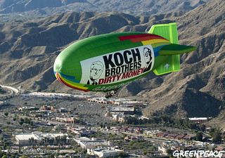 Flying Into Koch Dirty Money | by Greenpeace USA 2016