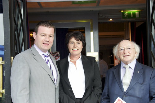 Alan Kelly MEP with Cllr. Ann Phelan and Michael D. Higgins TD | by The Labour Party