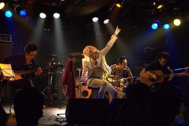 acoustic BAKUBENI live at Yotsuya Outbreak, Tokyo, 21 Jul 2010. 063