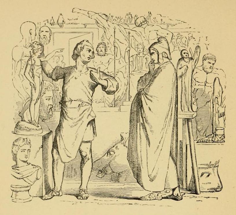 Mercurius et Statuarius