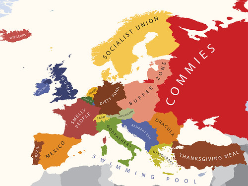 Europe According to the United States of America | by alphadesigner