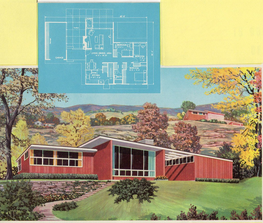 Homes And Plans Of The 1940's, 50's , 60's And 70's