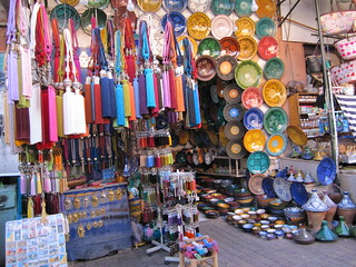 Moroccan market | by Aromahead Institute