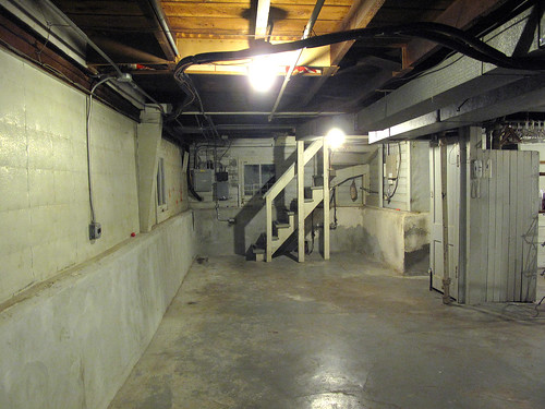 The Clean, Empty Basement | by Nicole Balch
