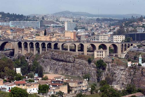 Constantine pont sidi m 39 cid le pont de constantine flickr for Piscine sidi m cid constantine