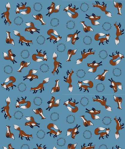 My fox fabric | by j_q_adams