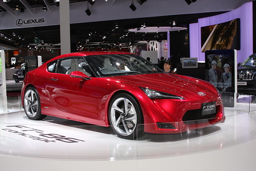 Toyota at the Paris Motor Show 2010: FT-86 Concept | by Toyota UK