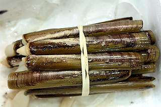 razor clams | by David Lebovitz