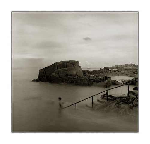 Sandycove swimmers | by monosnaps