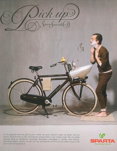 Sparta Bicycle Advert | by Mikael Colville-Andersen