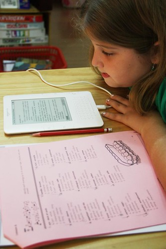 Using Kindle dictionary | by jimmiehomeschoolmom