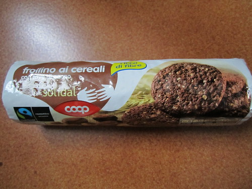Vegan biscuit with the cocoa bean by Coop | by veganbackpacker
