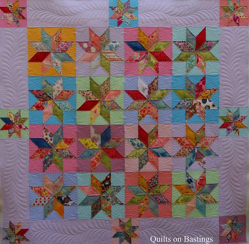 Free Quilt Pattern For 8 Point Star : Eight Pointed Star Quilt www.quiltsonbastings.blogspot.com? Flickr