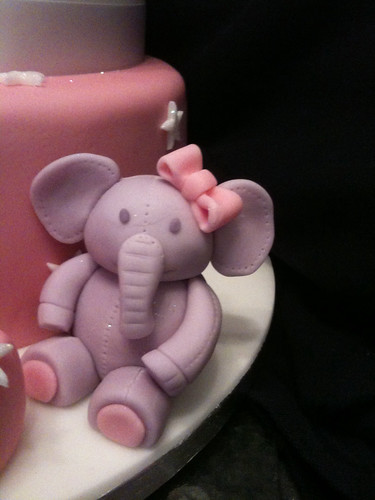 Elephant Cake Topper | by Kerry's cakes