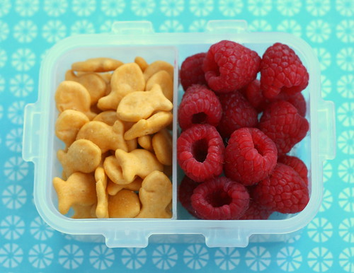 fishies and raspberries | by anotherlunch.com