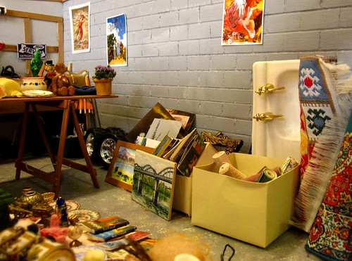 Miniature garage sale | by The Shopping Sherpa