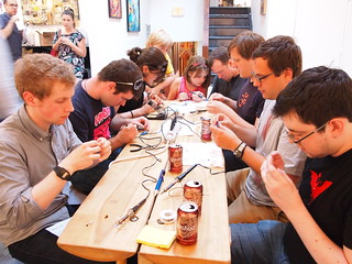 Handmade Music: Phototheremin workshop | by p_kirn