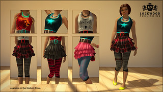 Lockwood skirts | by PlayStation.Blog