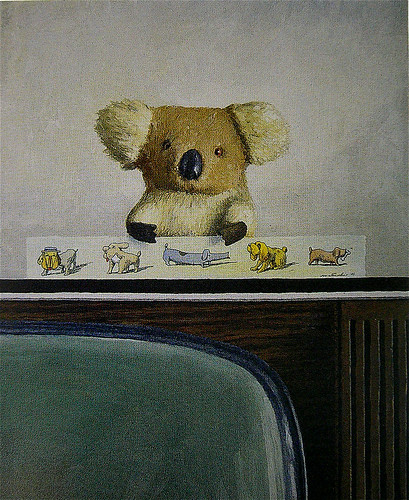 Franco Matticchio - Koala on the television (with five dogs) | by laura@popdesign