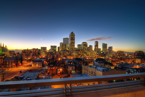 Denver Skyline | by ryelk