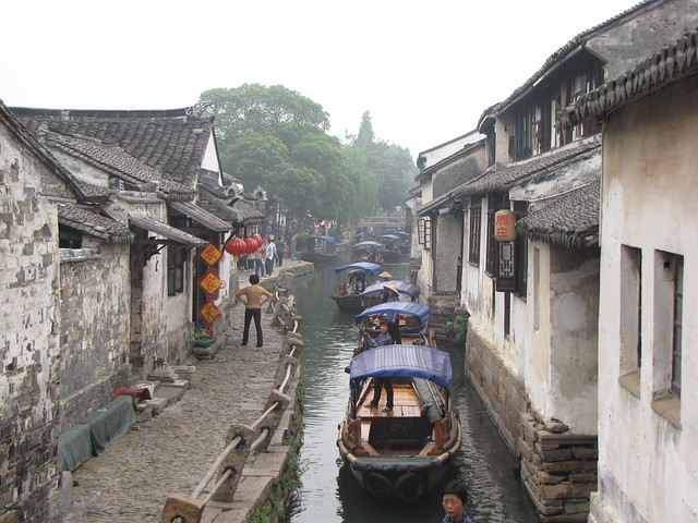 Boat Tour on the canal in Zhouzhuang