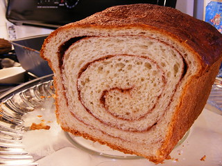 Cinnamon-Swirl Bread | by howtoeatacupcake.net