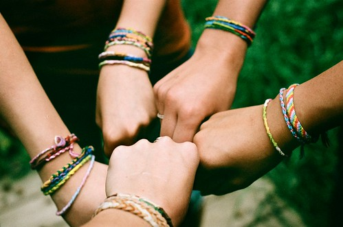 friendship bracelets. | by amanda.venner
