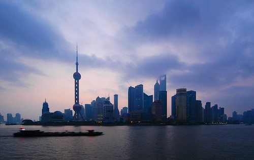 Shanghai - Pudong Skyline at Dawn | by cnmark