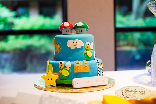 Super Marion Grooms Cake | by bluecakecompany