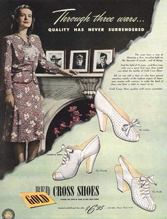 Ad for Red Cross shoes 1944 | by Silverbluestar