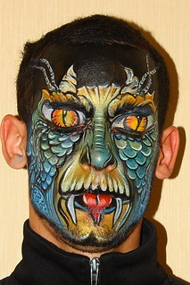 Face Painting Dragon | by Anna Wilinski