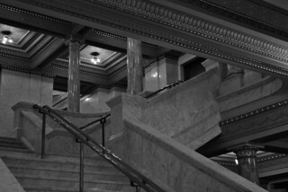 Allen County Courthouse, south staircase | by rickiep00h