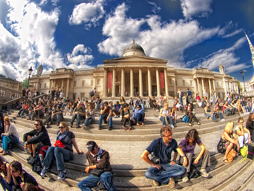 Trafalgar Square and National Gallery.  london | by anrapu