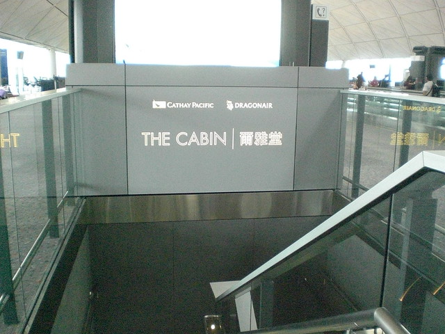 The Cabin, Cathay Pacific, Hong Kong International Airport,