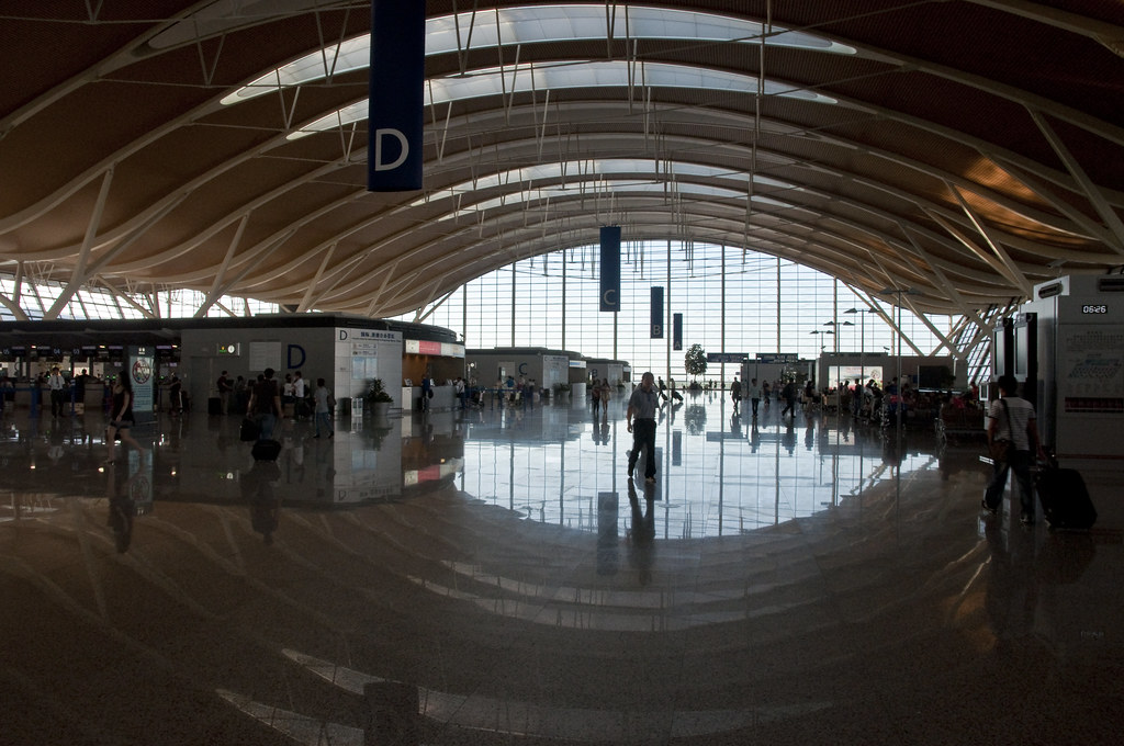 Terminal 2 Check-In Area