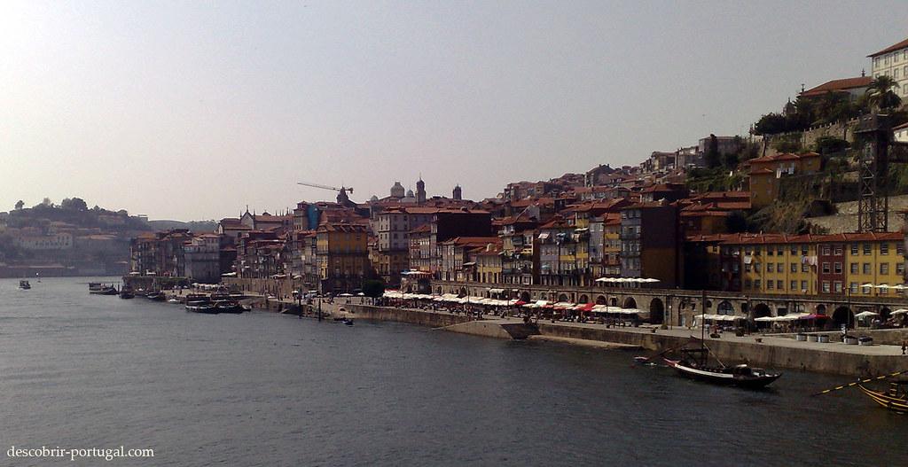 Vue du pont sur la ville, patrimoine de l'humanité
