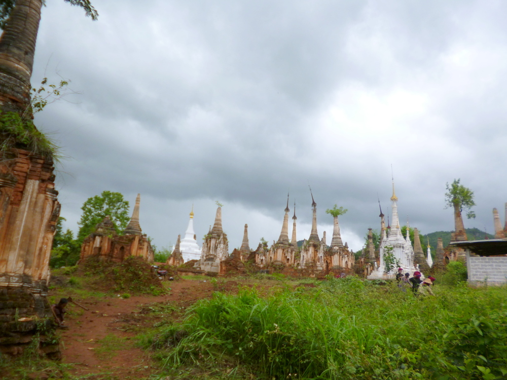 Disadvantages of visiting Myanmar during rainy season: Gloomy photos