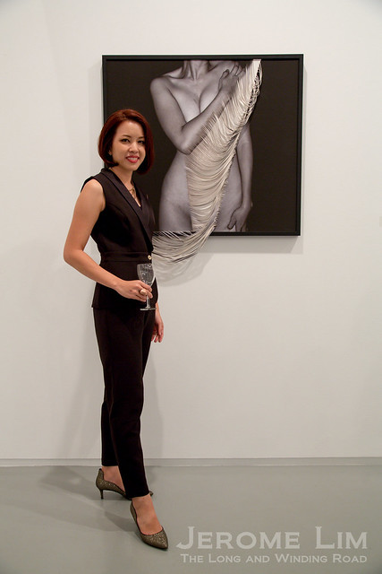 Ms. Kamolpan Chotvichai at the Sundaram Tagore Gallery.