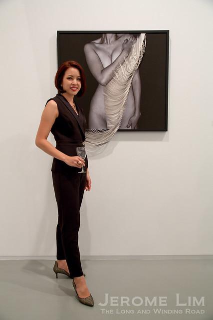 Ms. Kamolpan Chotvichai at the Sundaram Tagore Gallery.