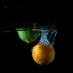 lime and orange splash 200/365