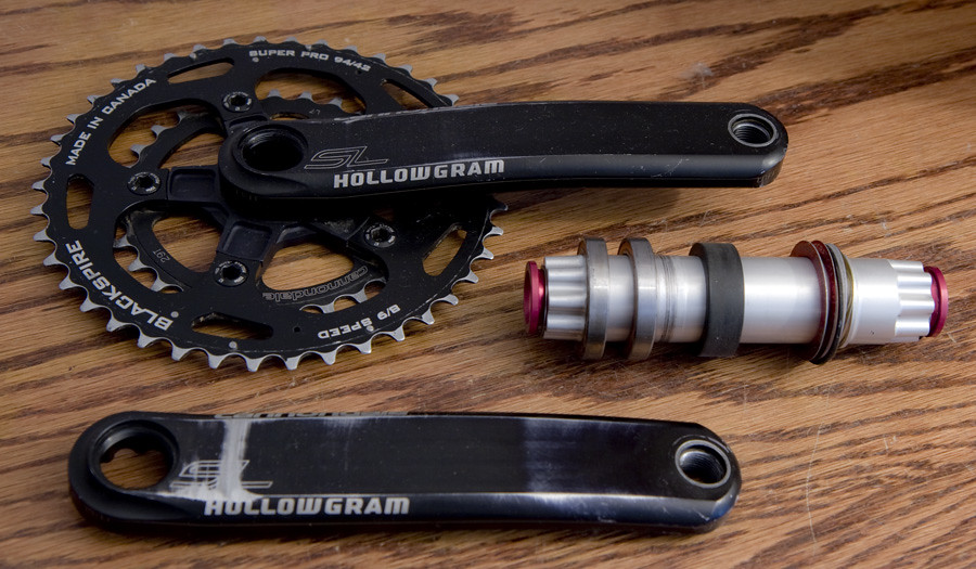 Double Crankset For Touring