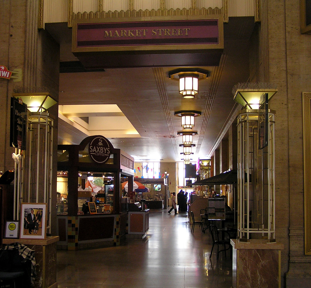 Usa Philadelphia 30th Street Station Is The Main Railroa Flickr
