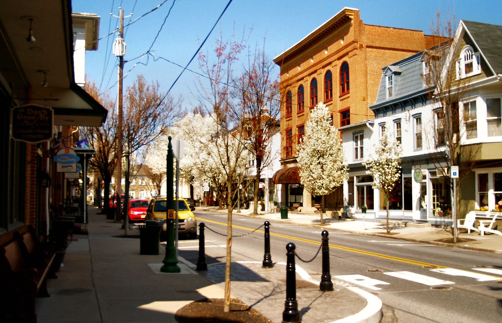 Main Street Lititz Pa Lititz Was Settled In 1710 And