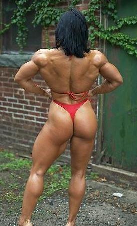 female bodybuilders naked