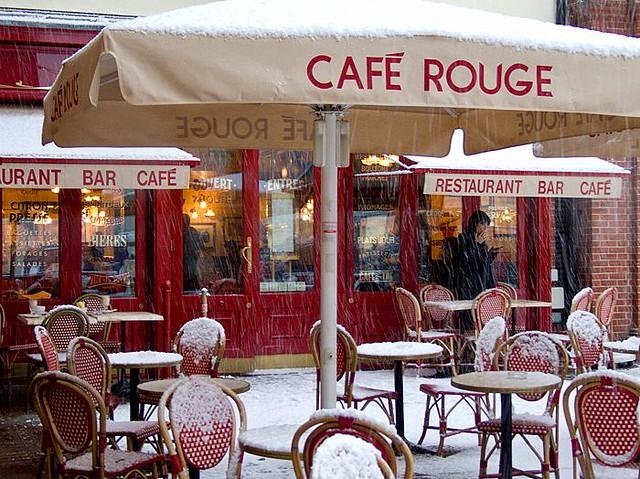 Cafe Rouge Christmas Menu Brighton Marina