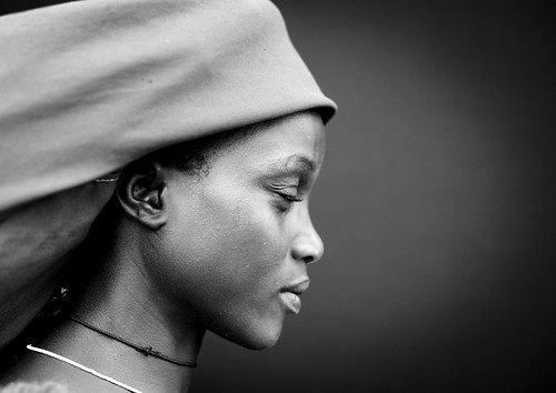 Mucubal profile woman - Angola | by Eric Lafforgue