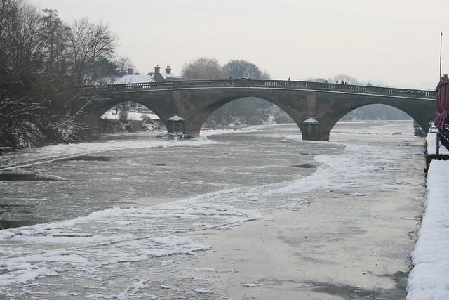 River Severn Frozen Over