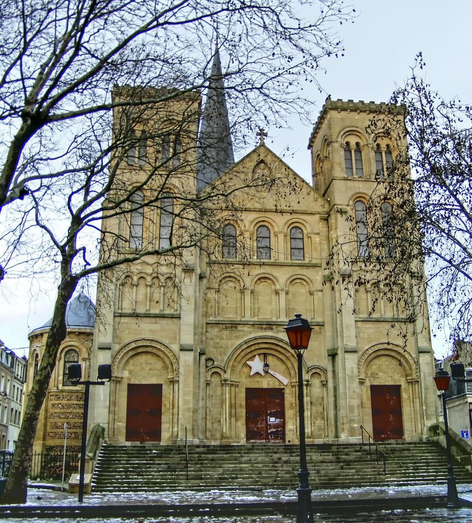 Roly0360 eglise saint vincent de paul le havre france for 3d architecture le havre